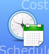 作成のコストと完成までの時間イメージ